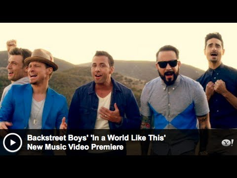 Backstreet Boys - In A World Like This - Official Video ...