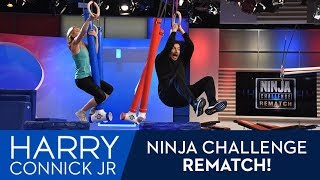 Harry v. Ninja Jessie Graff: The Rematch!