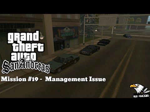 GTA San Andreas || Walkthrough || Mission #19 - || Management Issues || RAV GAMING