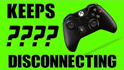 Xbox One Controller Disconnecting Problem Fix (REUPLOAD)