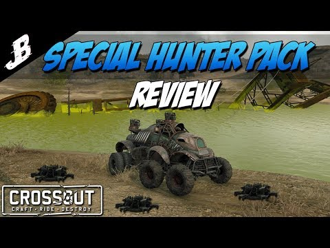 Crossout - New Special Hunter Pack review and gameplay. KapKan Minelayer is very effective.
