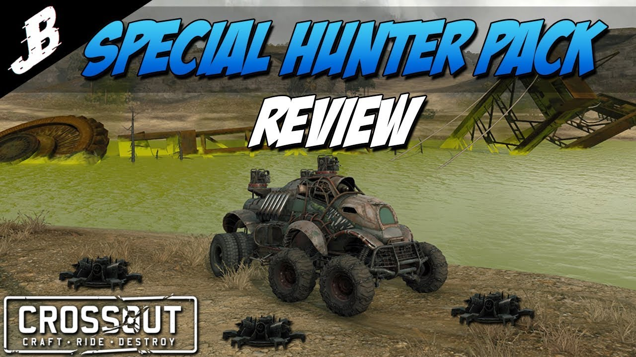 Crossout - New Special Hunter Pack review and gameplay  KapKan Minelayer is  very effective