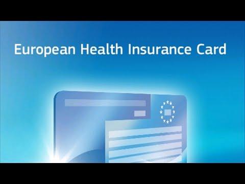 Karta Ubezpieczenia Europa.Europejska Karta Ubezpieczenia Zdrowotnego Ekuz Youtube