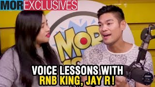 #MORexclusives: Voice lessons with RnB King, Jay R!