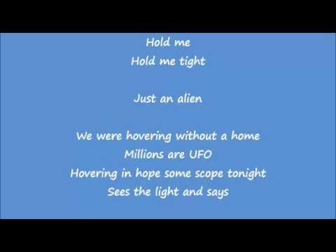 Coldplay - A L I E N S Lyrics Video