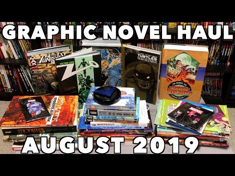 Graphic Novel, Omnibus, Hard Covers, Manga, TPBs And Comic Book Haul August 2019!