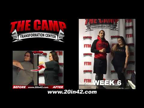Bakersfield Weight Loss Fitness 6 Week Challenge Results - Ashley S.