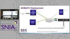 Comparative Performance Analysis of NVMeFC and SCSI FCP