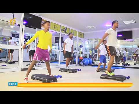 Ethiopian - Funny Trainer on a Sport Programme Fana TV