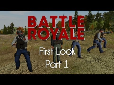 ARMA 2: DayZ Battle Royale Mod — First Look — Part 1 — Tent Rush!