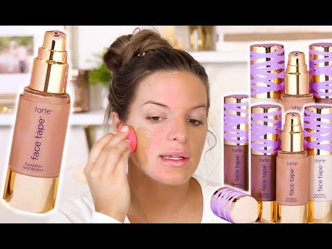 TARTE FACE TAPE FOUNDATION.. HIT OR MISS? Wear Test Review | Casey Holmes