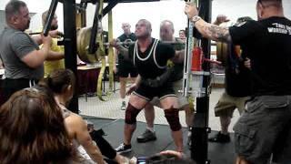 666  raw squat chuck krutulis @203
