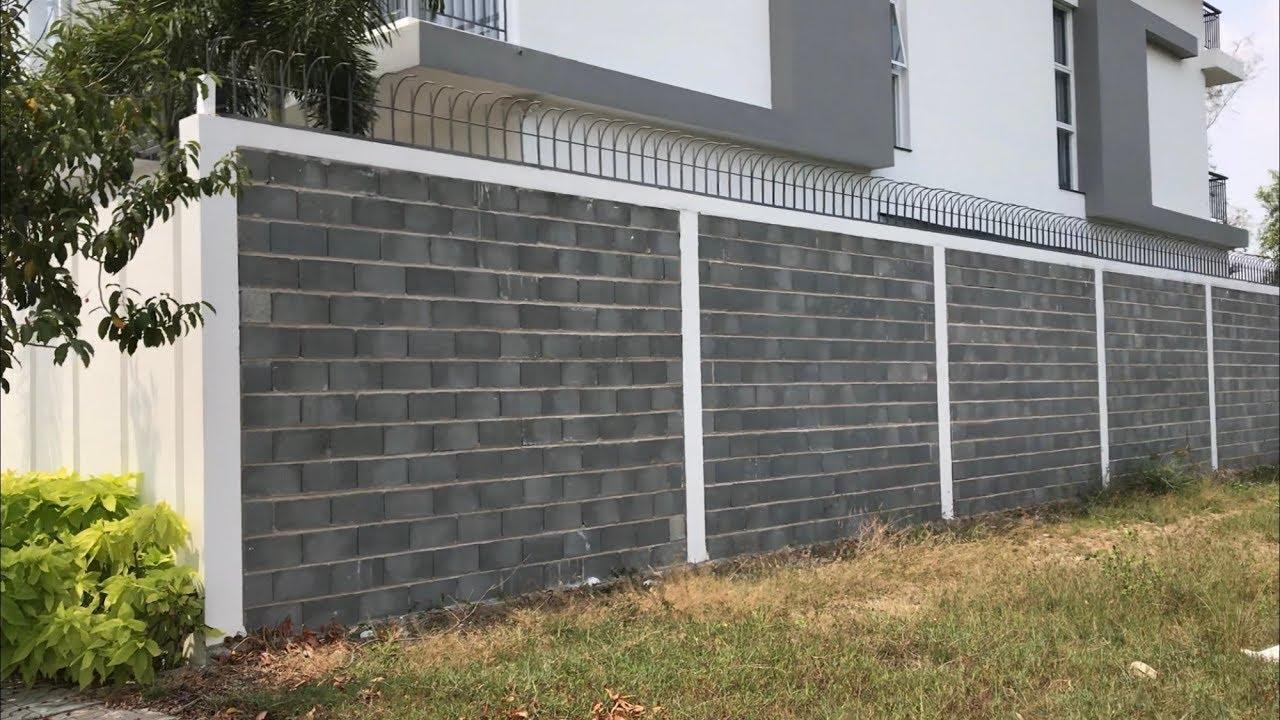 Kết quả hình ảnh cho tường rào bằng gạch block