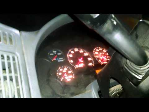 Parking light issue. 2005 International truck. Fixed! - YouTube on