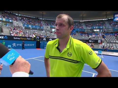 Gilles Muller On-Court Interview (QF) | Apia International Sydney 2017