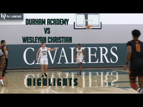 Highlights: Durham Academy gets a big win over Wesleyan Christian