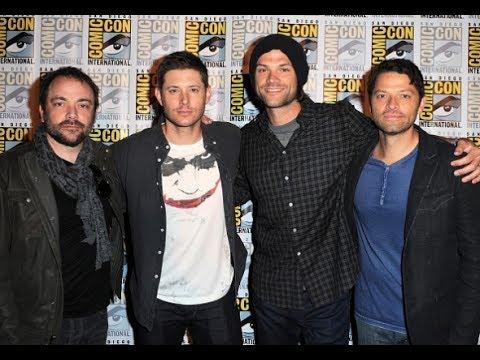 Jared, Jensen, Misha and Mark Sheppard Funny Moments