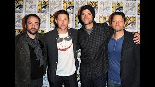 Jared, Jensen, Misha and Mark Sheppard Funny Moments