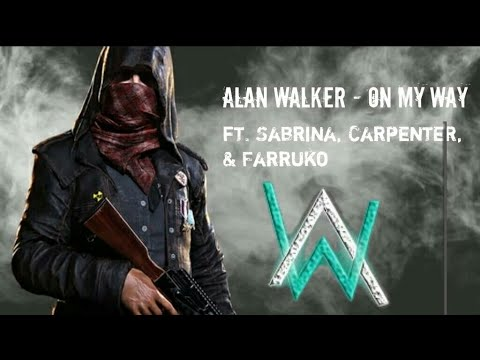 Alan Walker, Ft. Sabrina Carpenter & Farruko - On My Way (Pubg Animation & Pubg Trailer)