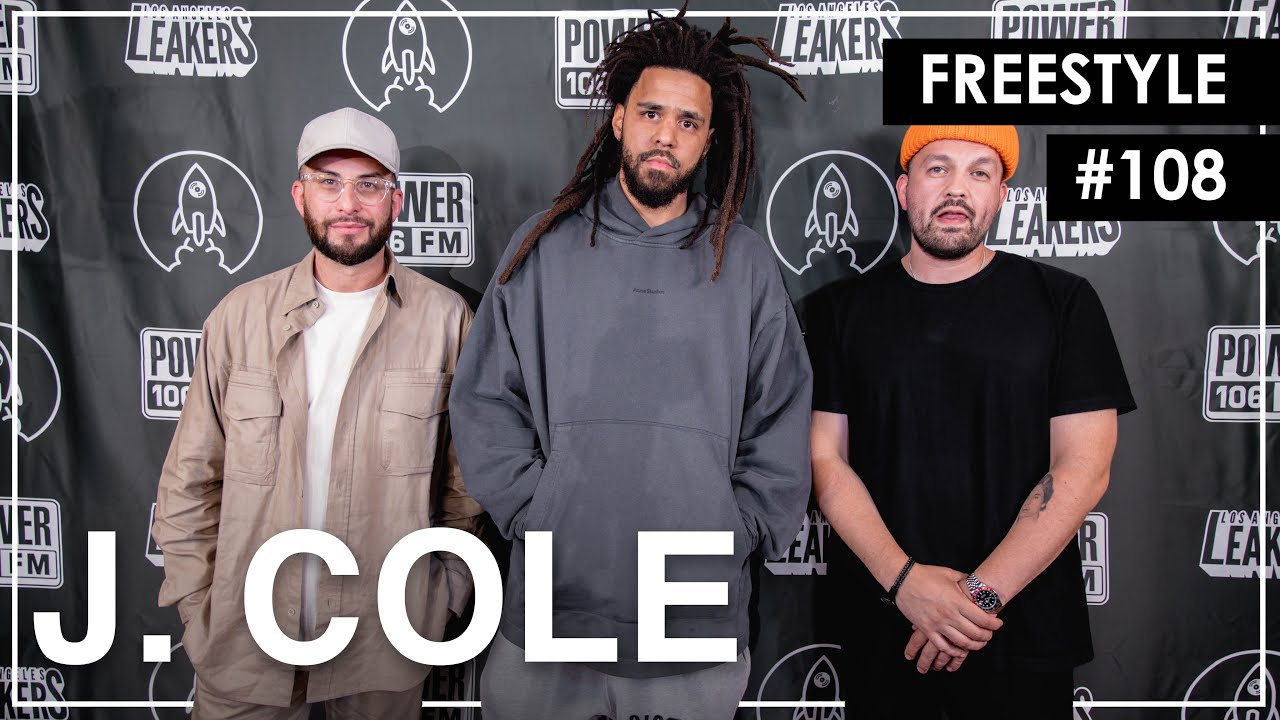 """J. Cole Freestyles Over """"93 Til Infinity"""" & Mike Jones' """"Still Tippin"""" - L.A. Leakers Freestyle #108"""