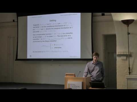 Research Section Discussion Meeting: Random-projection ensemble classification