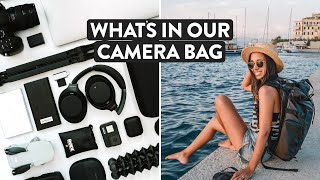 What's In My Camera Bag 2020? Our Travel Filming Gear & Carry On Backpack