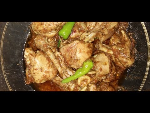 restaurant style chicken shinwari karahi by Aiza cooking