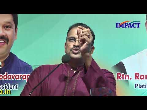 Sri VV Laxminarayana IPS at IMPACT Kakinada | 2018
