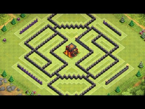 Clash of Clans - Town Hall 10 l Trophy Base + Protects Resources