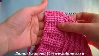 Шапка Модная - вязание крючком детской шапки