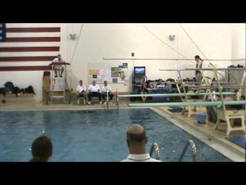 Sivan Mills Northeast Ohio High School Girls Sectional Diving 2011