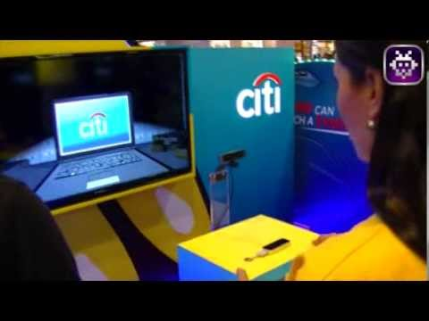 First Leap Motion experience for banking in Dubai