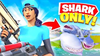 shark loot ONLY challenge in fortnite...