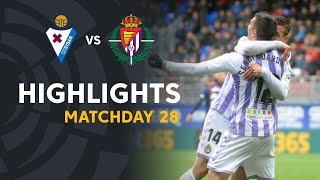 Highlights SD Eibar vs Real Valladolid (1-2)