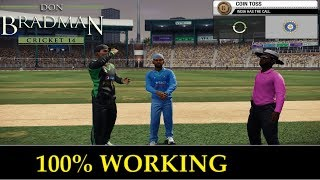 "[100% SURE] DOWNLOAD + INSTALL ""DON BRADMAN CRICKET 14"" GAME FOR PC"