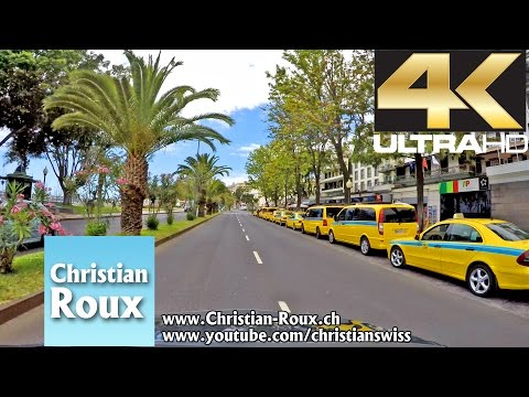 1X UHD - Portugal 300 (Camera on board): Island of Madeira, Funchal City Tour (Hero4)
