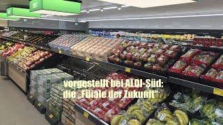 """ALDI  stellt """"Filiale der Zukunft"""" vor @ Unterhaching bei München"""