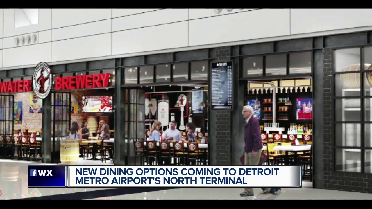 Several Metro Detroit Based Restaurants Coming To Dtw North Terminal