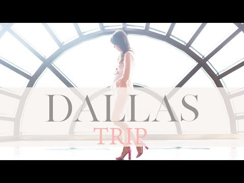 Travel Vlog  Team Jilly Takes on Dallas!