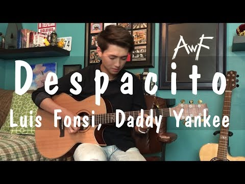 Despacito - Luis Fonsi, Daddy Yankee ft. Justin Bieber - Cover Fingerstyle Guitar Solo by Andrew Foy