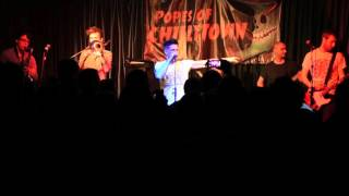 Popes Of Chillitown - Dalking Man / OPOOM - Live @ Camden Unicorn 26/2/16