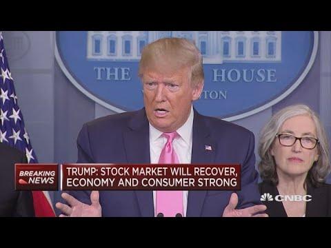 President Trump responds