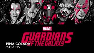 Awesome Mix Vol. 1- Guardians of the Galaxy Soundtrack (With Time)