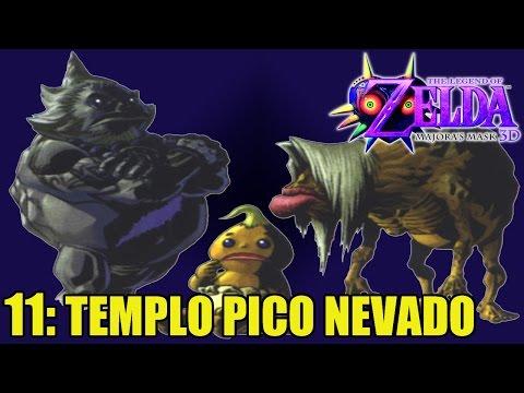 The Legend of Zelda: Majora's Mask 3D #11- TEMPLO PICO NEVADO (1ª parte) - Guía 100% en español