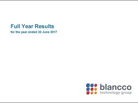 Blancco Technology Group webinar, November 2017