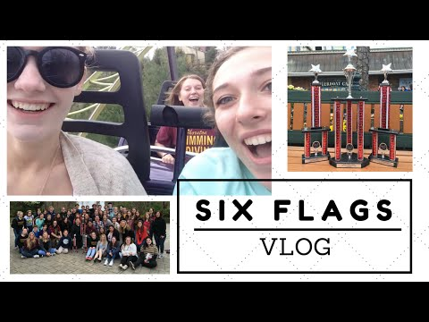 six flags new england; music in the parks 2016  daisy blake vlogs