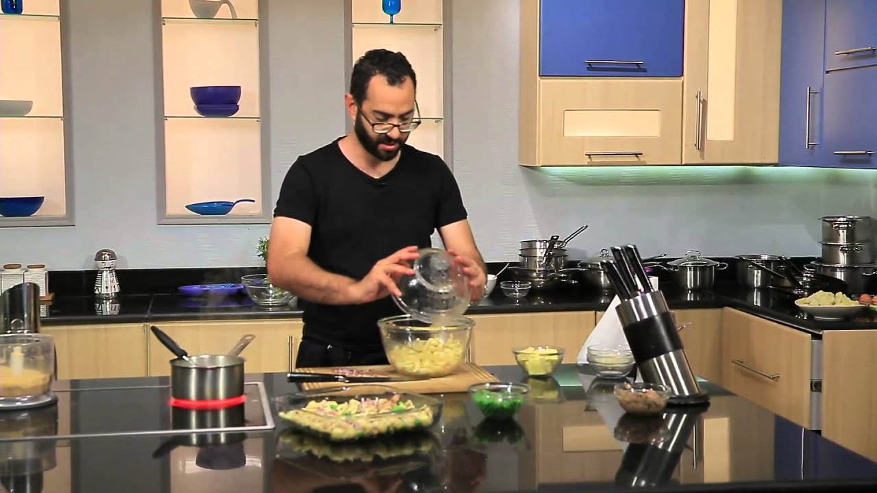 صينية مكرونة بالتونة - اقراص التونة بالبطاطس : مطبخ 101 حلقة كاملة