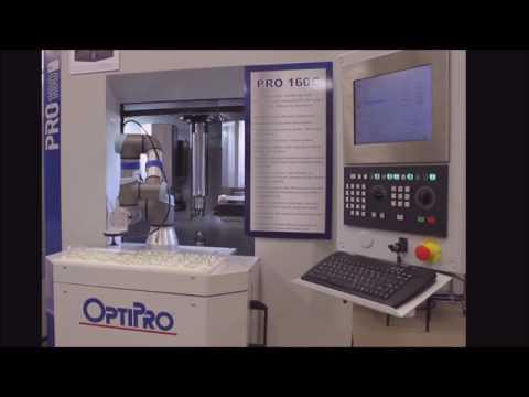 Automation On The OptiPro PRO 160C Optical Centering Machine