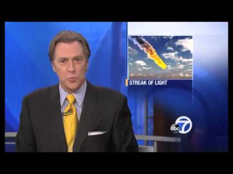 METEOR FIREBALL STREAKS ACROSS SAN FRANCISCO, CALIFORNIA SKIES FRIDAY NIGHT (FEB 16, 2013)