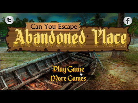 Can You Escape Abandoned Place Walkthrough